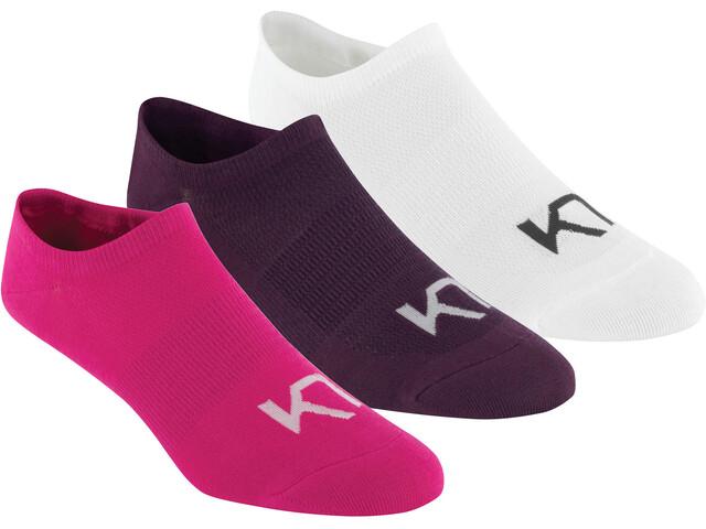 Kari Traa Hæl Socks 3 Pcs Sweet